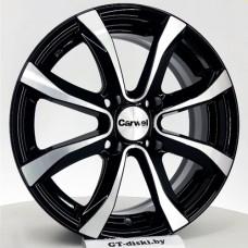 Carwel Omicron-ab Almaz black / Черный с полировкой 4x108 30 65,1 6,0 15