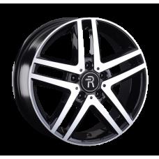 Volkswagen VV206mb BKF / Черный с полировкой 5x120 51 65,1 6,5 16