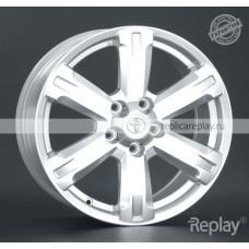 Toyota TY101 S / Серебристый 5x114,3 35 60,1 7,0 17