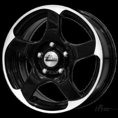 Купить диски iFree KC554-mb Copernik Black Jack / Черный с полировкой 5x112 35 66,6 6,5 15