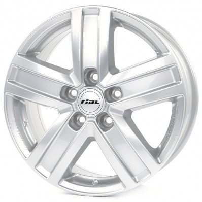 Купить диски Rial Transporter 5 Polar Silver / Серебристый 5x130 68 84,1 6,0 15