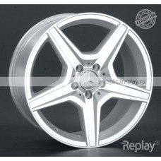 Mercedes MR75ms SF / Серебристый с полировкой 5x112 43 66,6 8,0 18