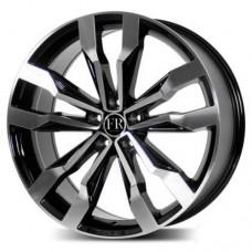 Volkswagen VV5333mb BMF / Черный с полировкой 5x112 41 57,1 8,5 20