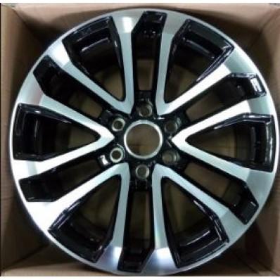 Купить диски Toyota TY5037mb BMF / Черный с полировкой 6x139,7 25 106,2 8,5 20