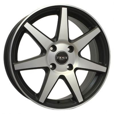 Купить диски PROMA Zenith Nero / Насыщенный серебристый 4x100 42 60,1 7,0 17