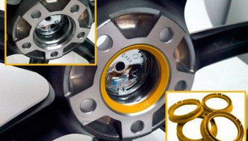 Роль и назначение центровочных колец, их размеры и материалы изготовления