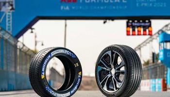 Michelin представила спортивные шины для электрокаров